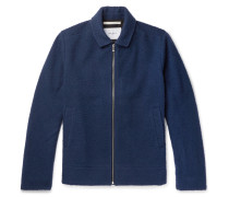 Elliot Boiled Wool-blend Jacket