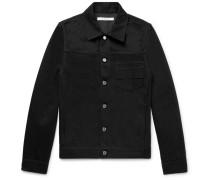 Slim-fit Embroidered Denim Jacket