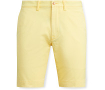 Bedford Stretch-Cotton Twill Shorts