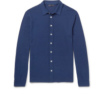 Slim-fit Cotton-jersey Shirt
