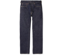 1947 501 Regular-fit Rinsed Selvedge Denim Jeans