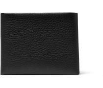 Mafia Grained-leather Billfold Wallet