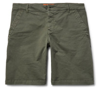 Slim-fit Stretch-cotton Twill Chino Shorts