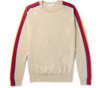 Panelled Virgin Wool-blend Sweater