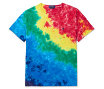 Slim-Fit Tie-Dyed Cotton-Jersey T-Shirt