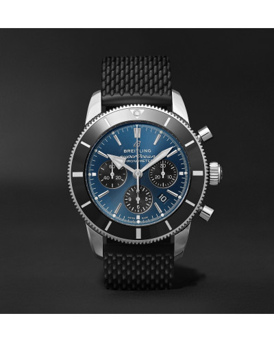 Superocean Héritage II B01 Chronometer 44mm Stainless Steel And Rubber Watch, Ref. No. AB0162121C1S1