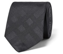 6cm Checked Silk-jacquard Tie