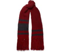 Fringed Virgin Wool Scarf