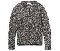 Mélange Wool-blend Sweater