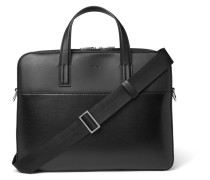 Focus Panelled-leather Briefcase