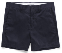 Seymour Satin Cotton-blend Chino Shorts