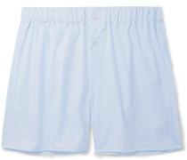 Cotton-poplin Boxer Shorts