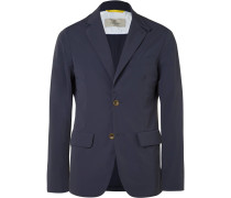 Slim-fit Water-resistant Shell Blazer