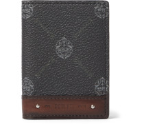 Signature Canvas and Leather Billfold Cardholder