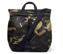 Counter Shade Camouflage-Print Nylon Tote Bag
