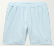 Garment-Dyed Cotton-Jersey Shorts