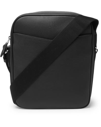 Hampstead Full-Grain Leather Messenger Bag