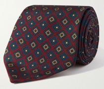 8cm Floral-Print Silk-Twill Tie