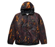 ACG Rope de Dope Logo-Print Padded Shell Hooded Jacket