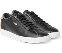 Match Classic Perforated Leather Sneakers