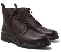 Hetre Shearling-lined Leather Boots