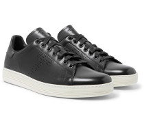 Warwick Perforated Leather Sneakers