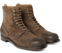Tempus Burnished-suede Boots