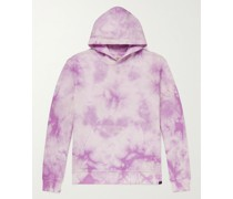 Tie-Dyed Cotton-Jersey Hoodie