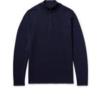 Levi Wool Half-zip Sweater