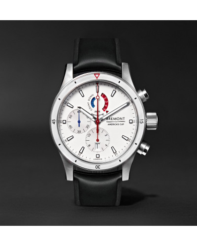 Oracle Team USA Regatta Chronograph 43mm Titanium and Rubber Watch, Ref. No. OTUSA-R/WH