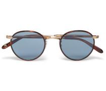 Wilson Round-frame Tortoiseshell Acetate And Gold-tone Sunglasses
