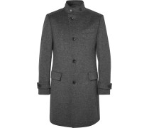 Sintrax Mélange Virgin Wool And Cashmere-blend Coat