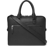 Textured-leather Briefcase