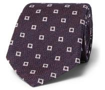 8cm Silk-blend Jacquard Tie