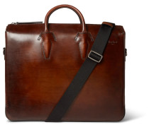Polished-leather Briefcase