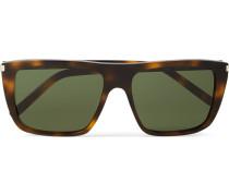 New Wave Square-frame Acetate Sunglasses