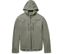 Ski Hooded Water-resistant Shell Jacket