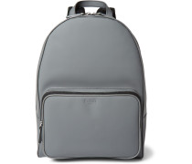Matte-leather Backpack