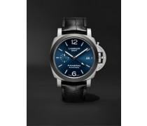 Luminor GMT Automatic 42mm Titanium and Alligator Watch, Ref. No. PAM01279
