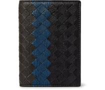 Intrecciato Pebble-grain Leather Bifold Cardholder