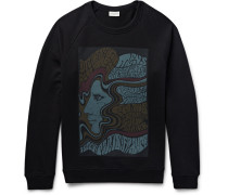 Printed Loopback Cotton-jersey Sweatshirt