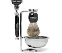 Ebony Shaving Set
