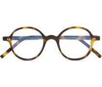 + Cutler and Gross Round-Frame Tortoiseshell Acetate Optical Glasses