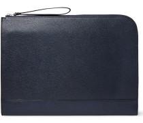 Pebble-grain Leather Portfolio