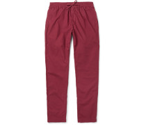 Sporty Riviera Slim-fit Cotton Trousers