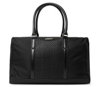 Shell And Pelle Tesutta Leather Holdall
