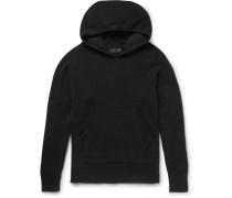 Oversized Stretch-knit Hoodie