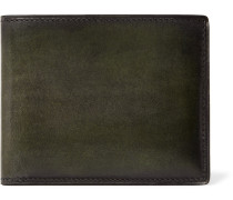 Makore Polished-leather Billfold Wallet