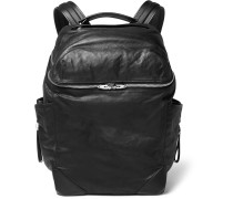 Wallie Waxed-leather Backpack