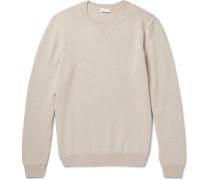 Merino Wool And Cotton-blend Sweater